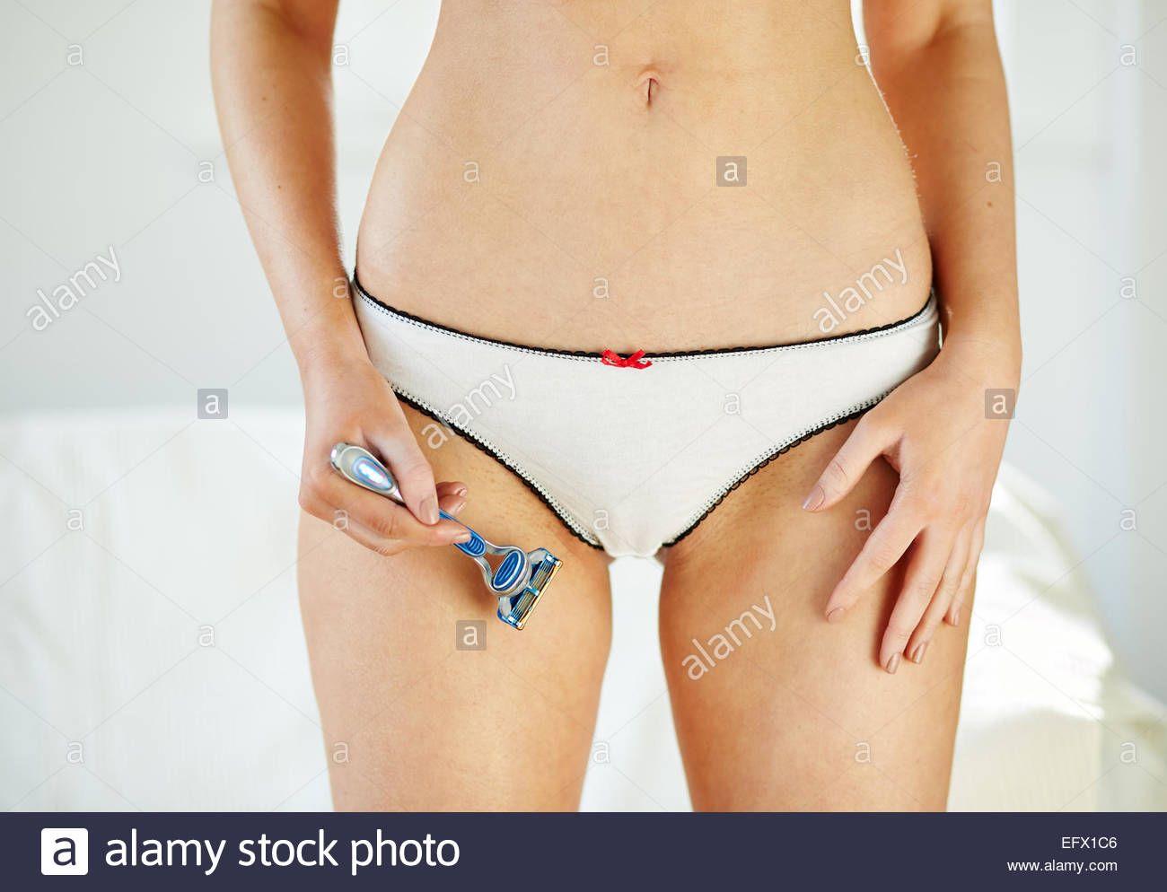 Bikini line photographs