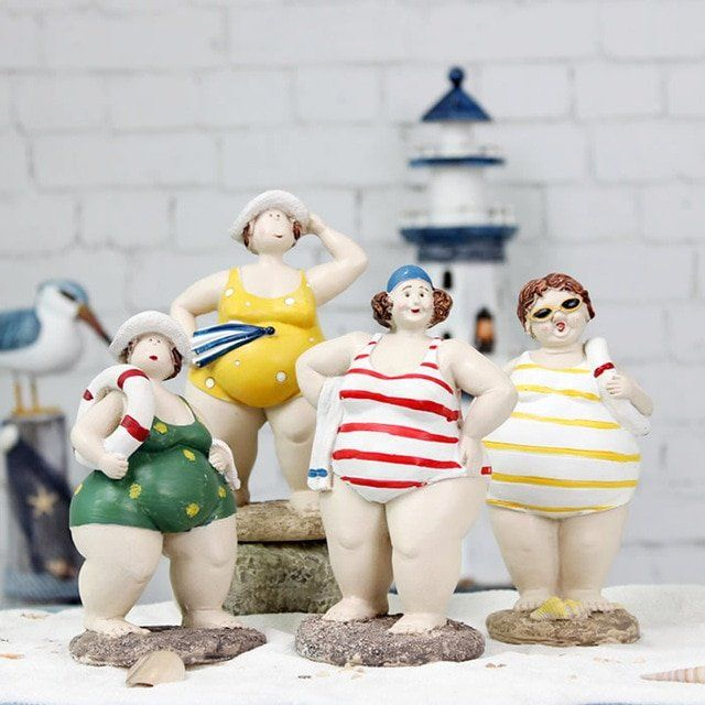 Retrograde reccomend Black chubby figurines