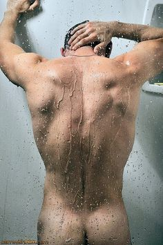 Bre naked guys in shower