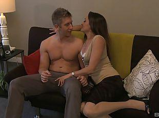Milf stocking hanjob videos