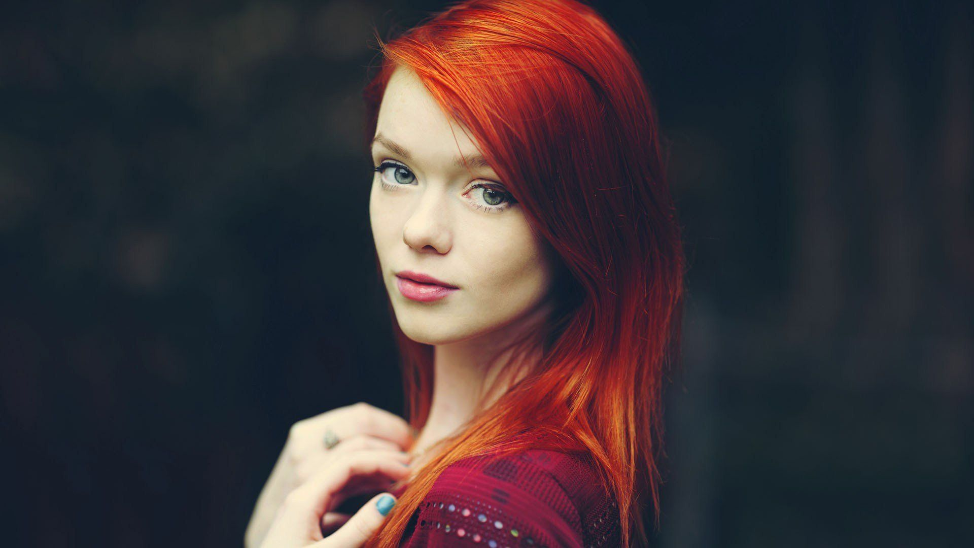 Redhead modle galleries