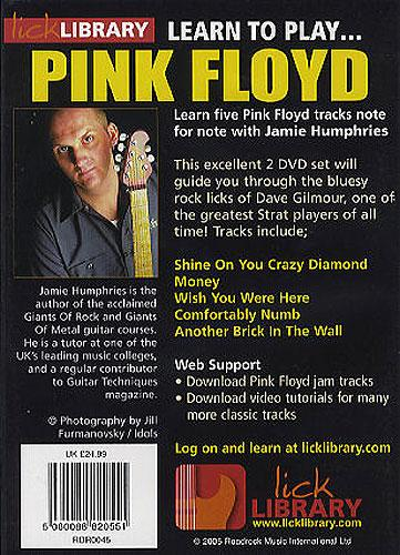Lick library pink floyd