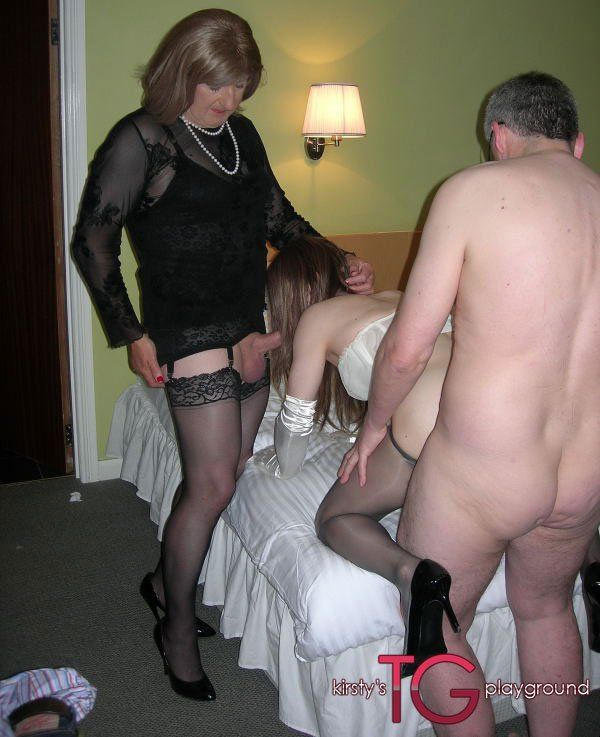 Cross dressing orgy videos porn clip