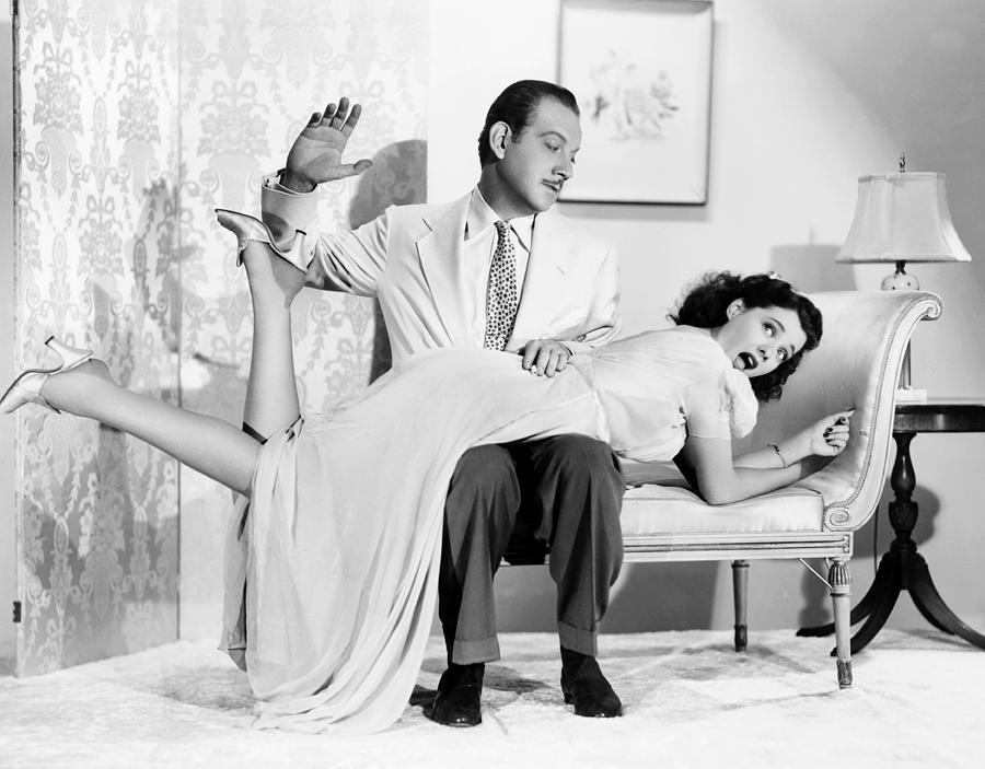 Getting husband to spank wife