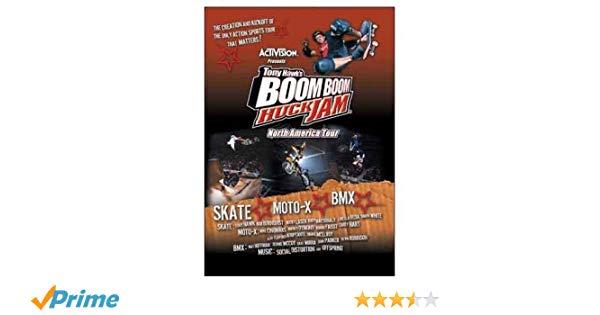 Bands played tony hawks boob boom huck jam