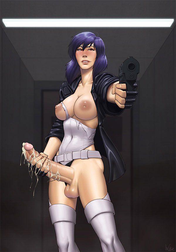 Dickgirl hentai figure