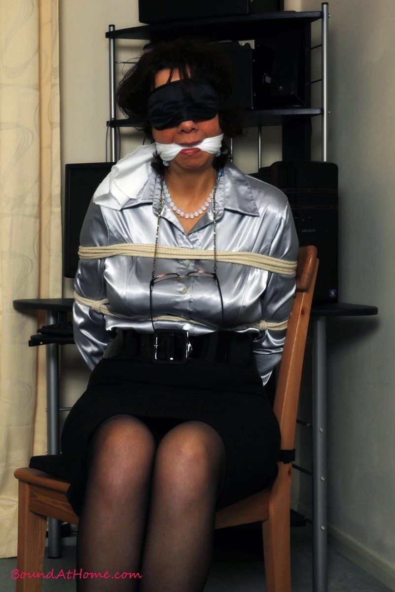 Renegade reccomend Blindfolded gagged milf photos
