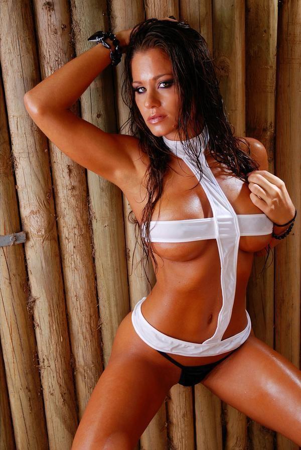 Adam bikini brooke model