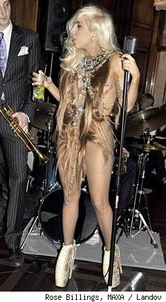 best of Gaga shows dick Lady her