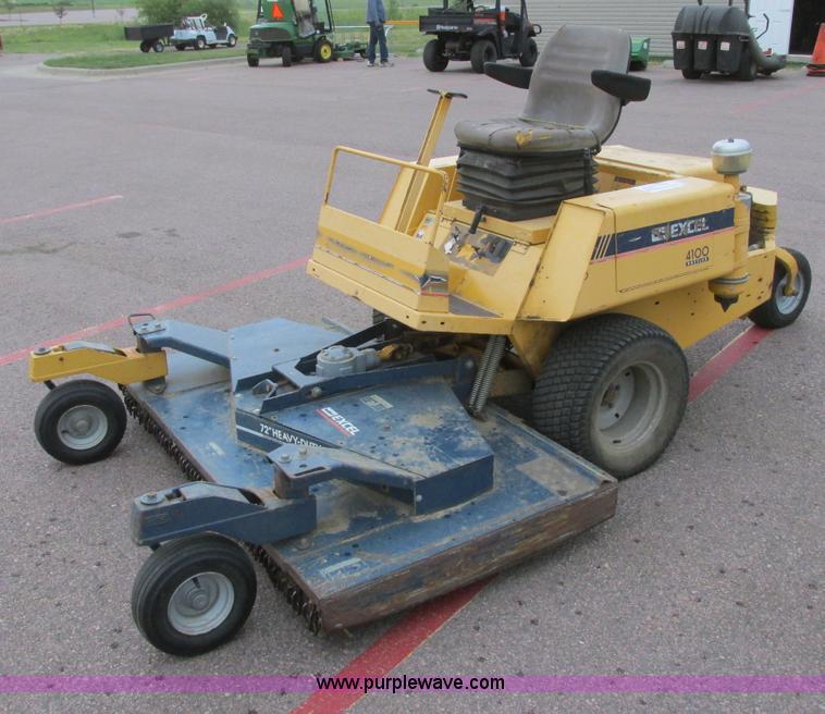 best of Hustler mower Excel lawn