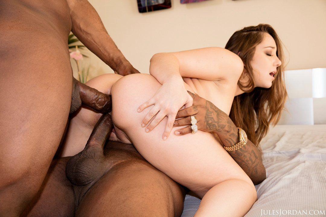 best of Interracial Double sex penetration
