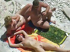 Naked mature couples voyeur