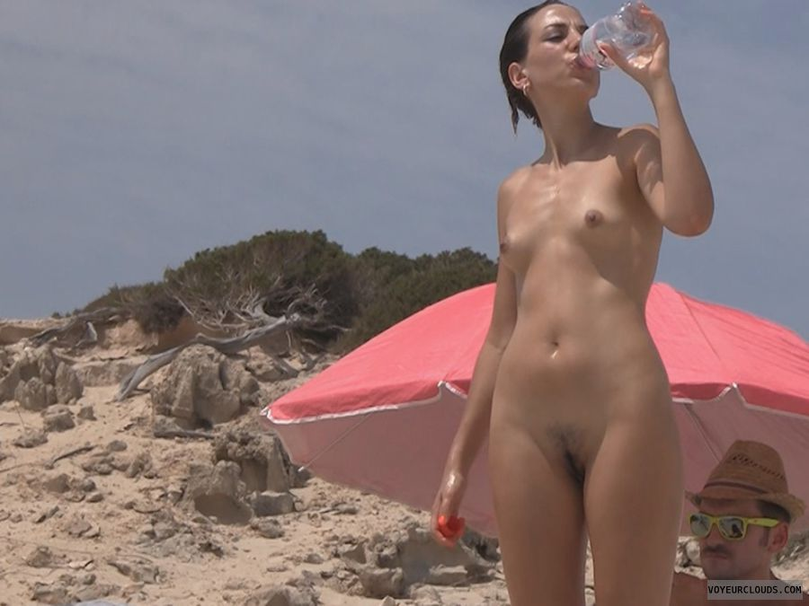 Authoritative point Beautiful shaved pussy beach