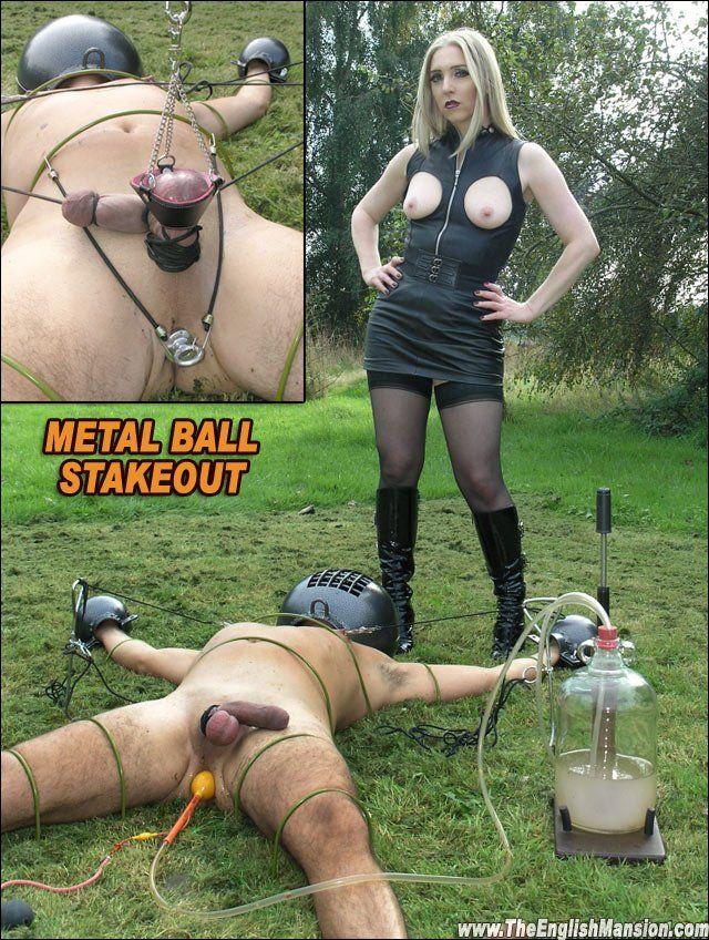 Pics femdom bondage Brutal CBT