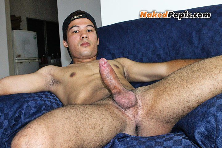 Naughty gay amateur takes dick