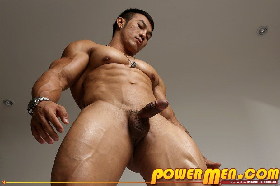 Asian male bodybuilders naked consider, that