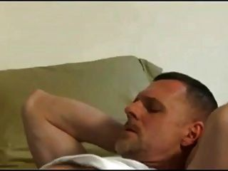 Gay daddy jerk off