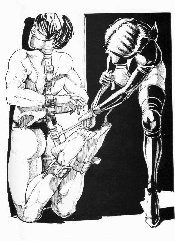 best of Bondage drawings Male
