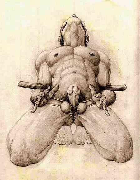 Neptune reccomend Male bondage drawings