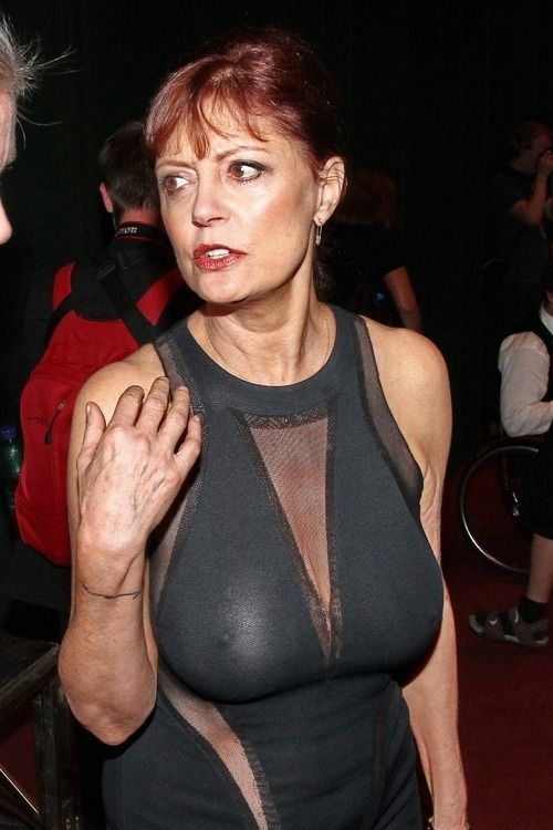 celebrity boobs Mature