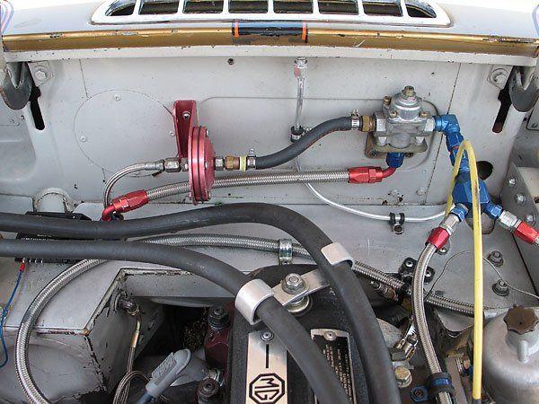 Wasp reccomend Midget fuel pressure regulator