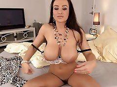 Big tit masturbation videos