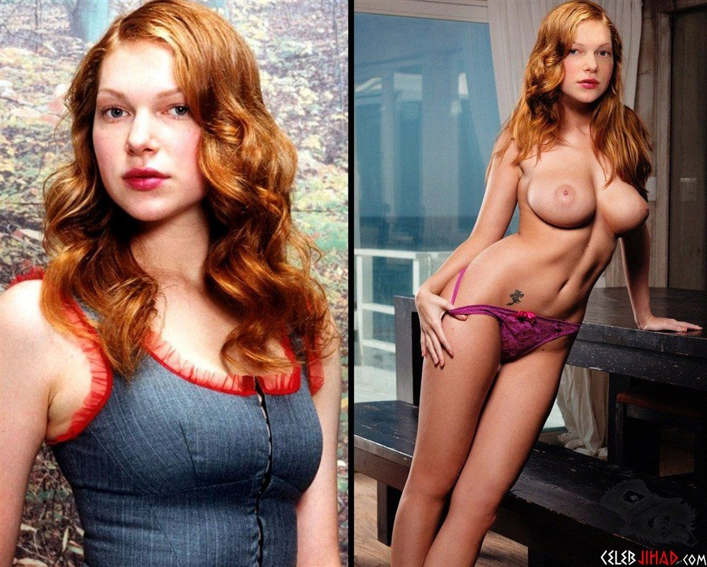 Nude redhead celeb
