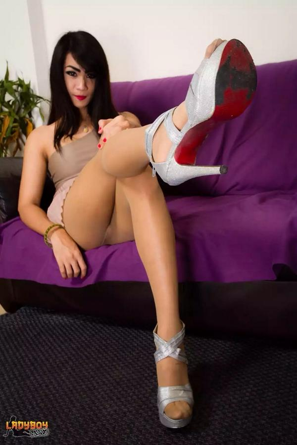 best of Asian pictues Pantyhose shemale