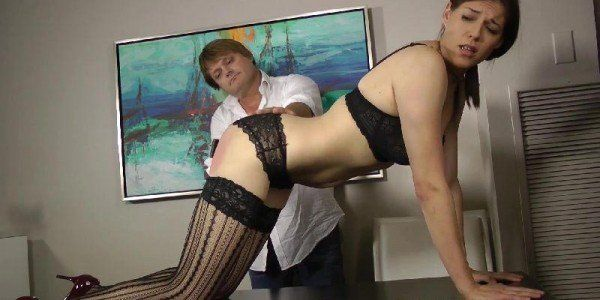 Bullseye reccomend Pantyhose secretary spanking