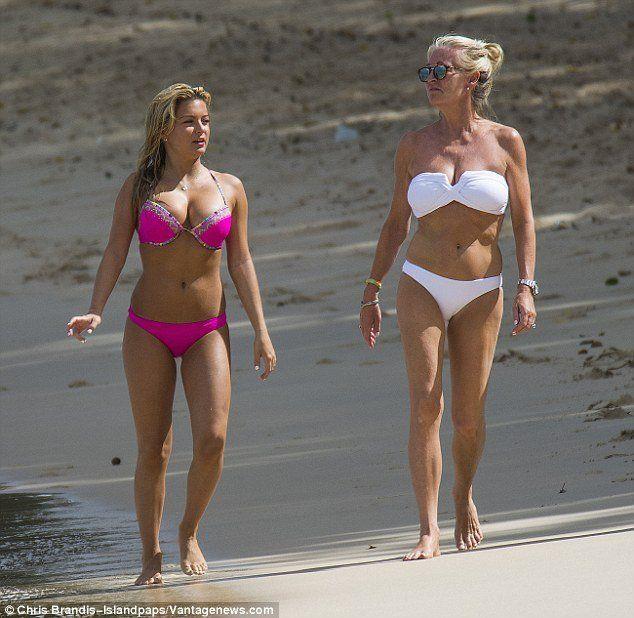 Sugar reccomend Princess zara in a bikini