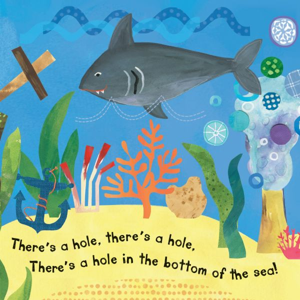 There is a hole in the bottom of the sea
